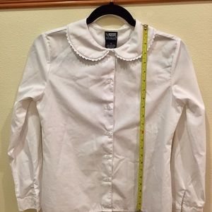 French Toast Shirts & Tops - White Button Down Shirt